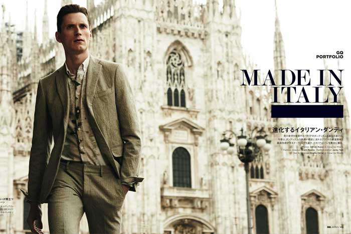 GQ China _ MADE IN ITALY