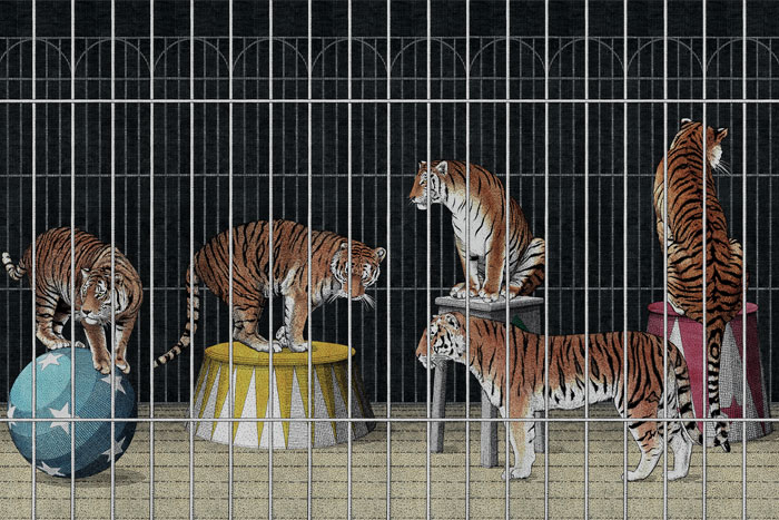 TIGERS FOR London Art